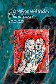 Naked Woman Listening at Keyhole - Sophia Rivkin