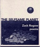 The Selfsame Planet - Zack Rogow