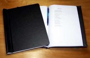 Springback Manuscript Binders