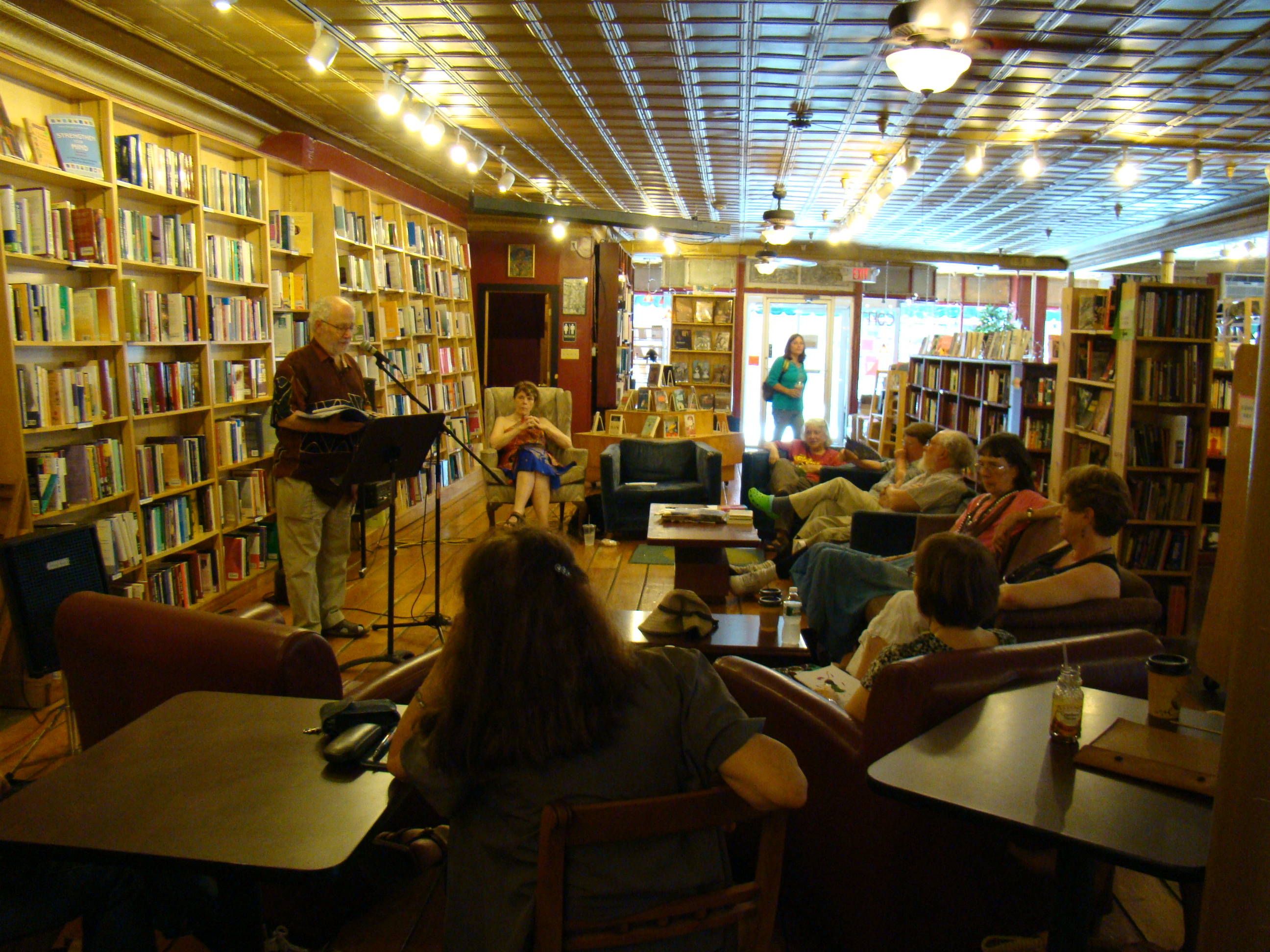 Public Reading Schedule Announced –  Woodstock Mayapple Writers' Retreat – July 23 to 26, 2014