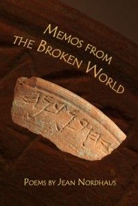 Memos from the Broken World by Jean Nordhaus - Front cover
