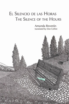 El Silencio de las Horas by Amanda Reveron translated by Don Cellini - front cover