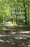 A White Page Demands Its Letters – Toni Ortner