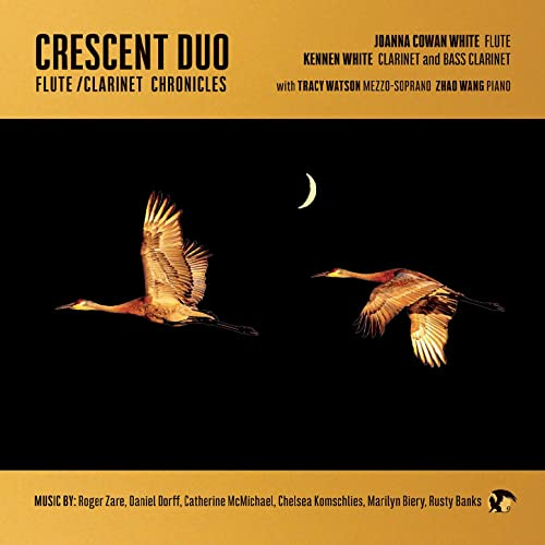 flute clarinet chronicles crescent duo cd front cover