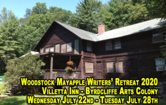 Woodstock Mayapple Writers' Retreat 2020 - Dates announced