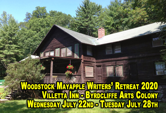 The 2020 Woodstock Mayapple Writers' Retreat – Dates announced – Applications open – Early payment discounts available