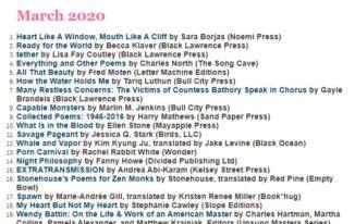 SPD Bestsellers March 2020 Ellen Stone
