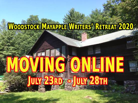 Woodstock Mayapple Writers Retreat 2020 Moves Online